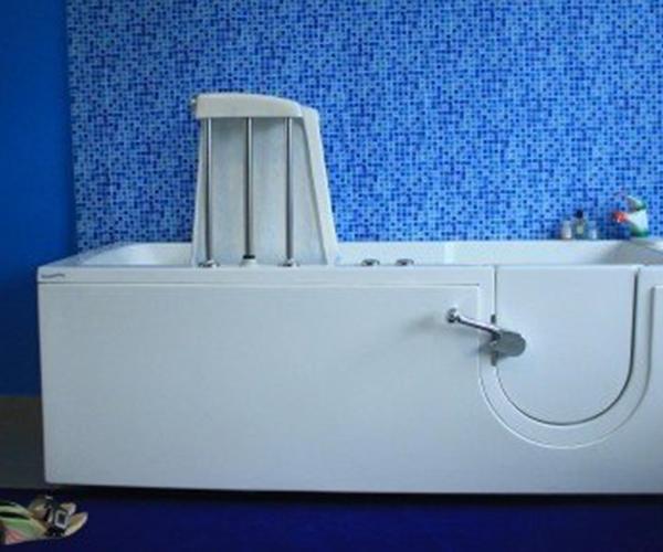 Motorizzata klassica vasca con sportello e sedile assistito - Vasca bagno assistito ...