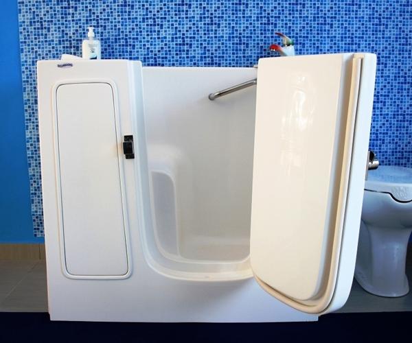 Vasche da bagno con sportello per disabili e anziani - Vasche da bagno per anziani ...