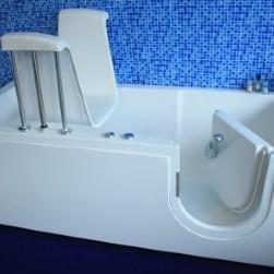 vasche con sedile motorizzato