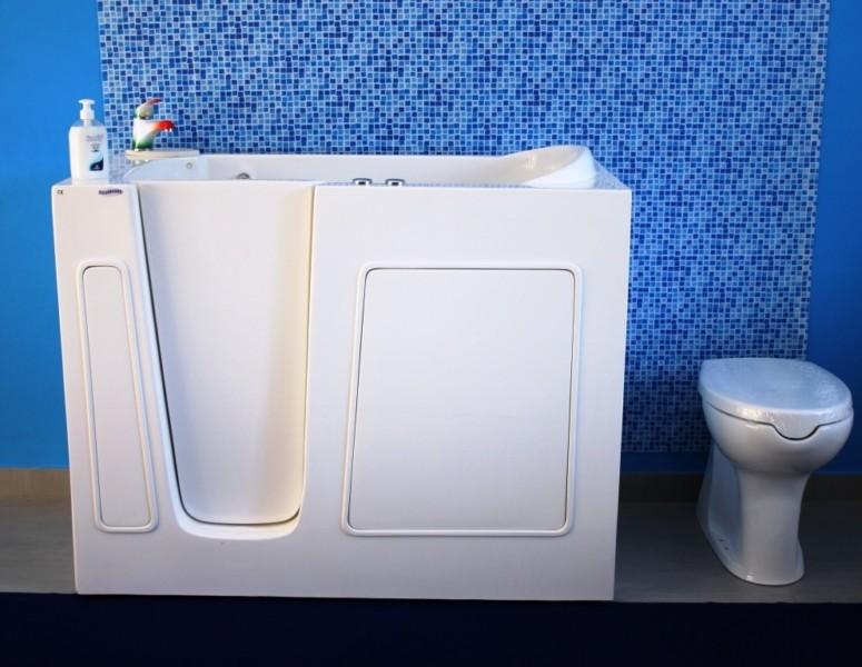 Vasca Da Bagno Con Sportello 100 70 : Vasche da bagno piccole cose di casa