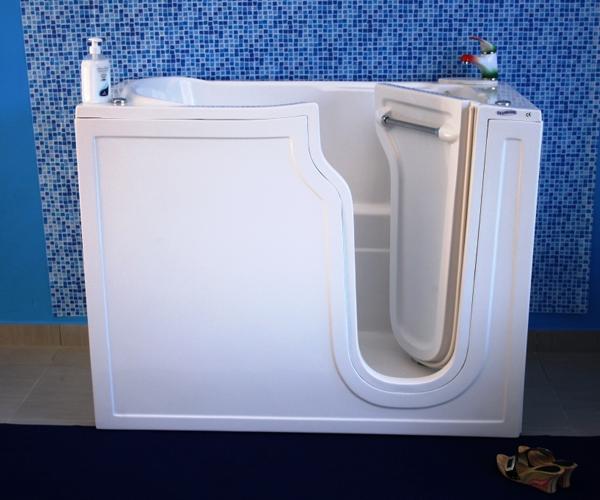 Vasche Da Bagno Apertura Laterale Misure : Promozione vasche roma sicurbagno